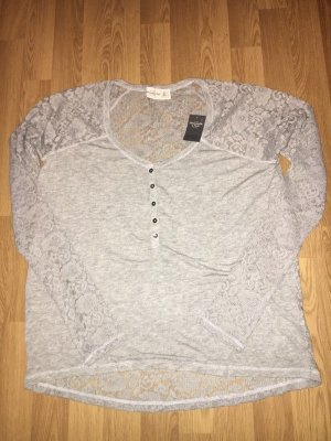 Abercrombie & Fitch Sweter oversize szary