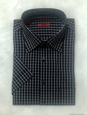 Abrams Shirt met korte mouwen zwart-wit