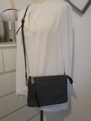 abro Crossbody bag anthracite leather
