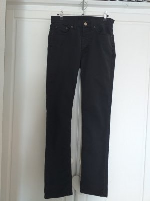 Acne Straight Leg Jeans black