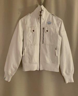 NEU Adidas Jeansjacke Sport Jacket Blazer Jacke Baumwolle 36 S Weiß