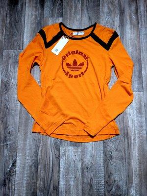 Adidas T-shirt jasny pomarańczowy