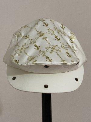 Adidas Sombrero de tela color oro-beige claro Poliéster