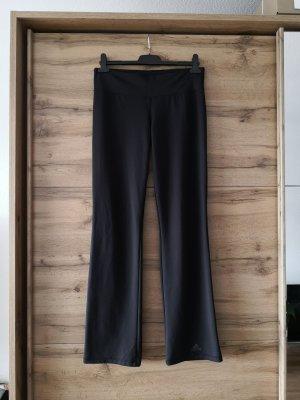 Adidas Pantalon de sport noir tissu mixte