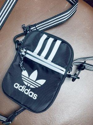 Adidas Mini sac noir-blanc
