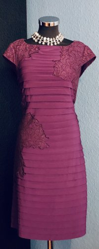 Adrianna Papell Falda estilo lápiz púrpura