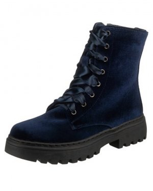 Booties blue-dark blue