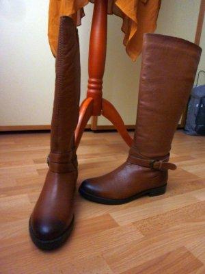 El Corte Ingles Riding Boots multicolored leather