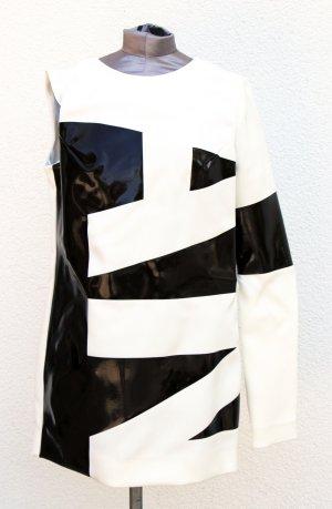 Neu Anthony Vacarello Kleid Minikleid one sleeve KP 2430,- Gr. S FR 38