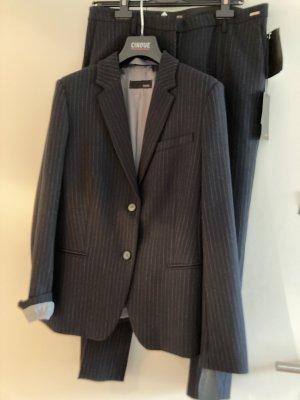 Cinque Pinstripe Suit dark blue