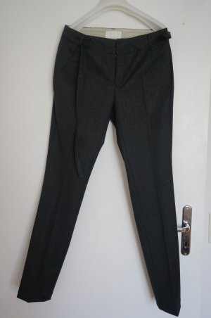 Bruuns bazaar Trousers black-silver-colored