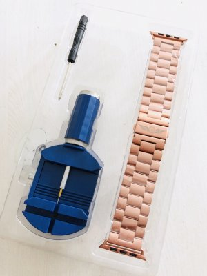 NEU • Apple Watch Premium Armband 42/44 mm