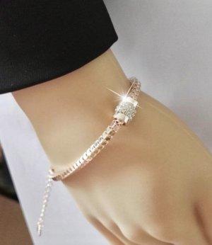 Neu! Armband mit charm in rosé Gold
