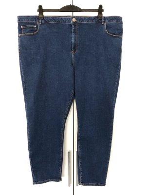Asos Denim Hoge taille jeans donkerblauw