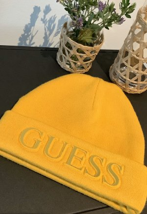 Guess Beanie yellow