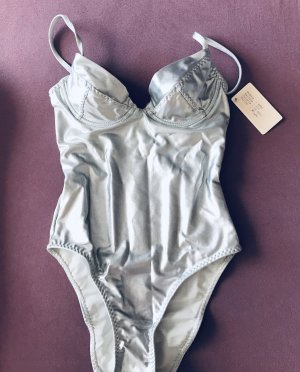 Swimsuit silver-colored