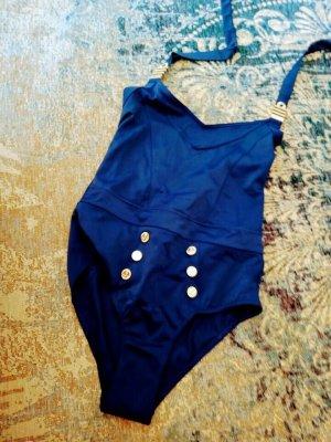 Marlies Dekkers Costume da bagno blu Poliestere