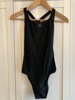Adidas Costume da bagno nero-bianco