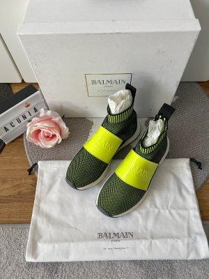 Balmain Instapsneakers geel-zwart