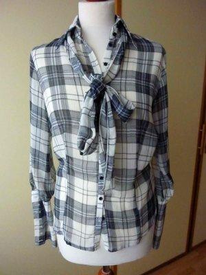 Bandolera Tie-neck Blouse multicolored polyester