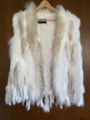 Madame Fur vest multicolored pelt