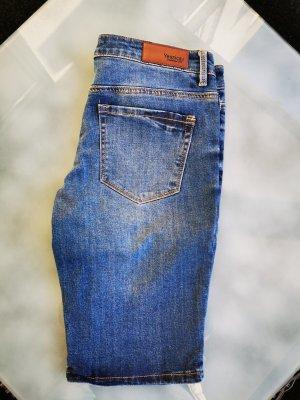 *NEU* Bermuda, Shorts, Blumenprint, Sommer, Blau, Rosa (K1)