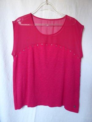 NEU: Besonderes, pinkes T-Shirt von QS (S.Oliver)