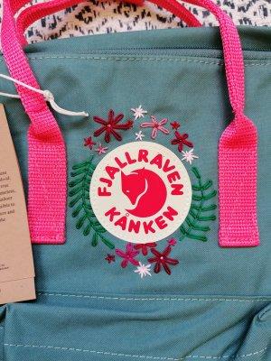 Fjällräven Trekking Backpack pink-cadet blue