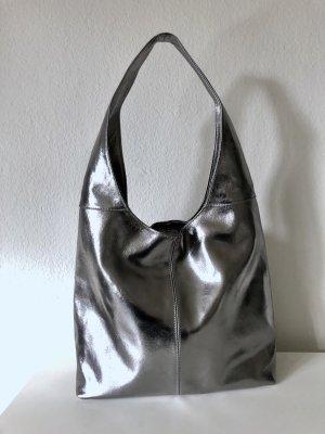 Vera Pelle Borsellino argento-nero Pelle