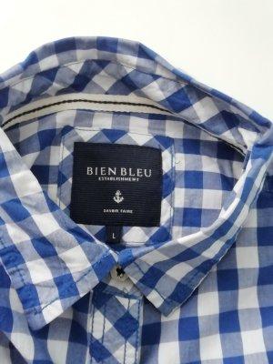 Bien Bleu Establishment Checked Blouse multicolored