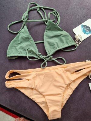 "Neu! Bikini von ""Aggieswimwear"" (aka Travelinhershoes) Gr. XS"