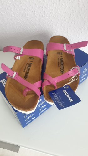 Birkenstock Sandalo comodo rosa-magenta