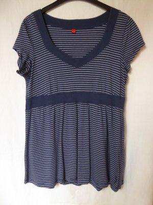 NEU: Blau-weiß-gestreiftes T-Shirt von Esprit