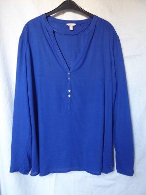 NEU: Blaue Bluse mit Knöpfen von Esprit