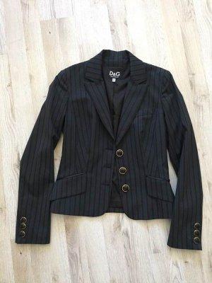 Dolce & Gabbana Unisex blazer zwart-donkergrijs