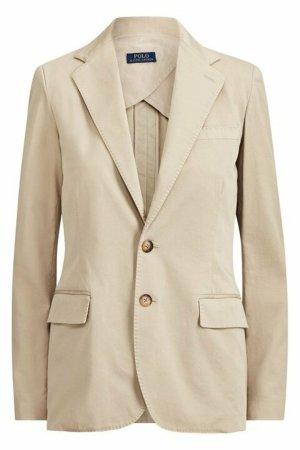 Polo Ralph Lauren Klassischer Blazer beige Katoen