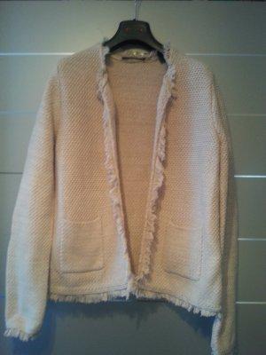 NEU! Blazer von Esprit, beige/ rosa, Größe L, Baumwolle