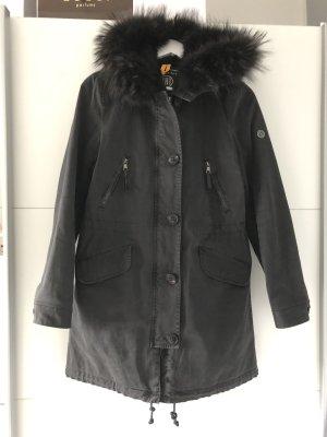 Blonde No. 8 Hooded Coat black-anthracite