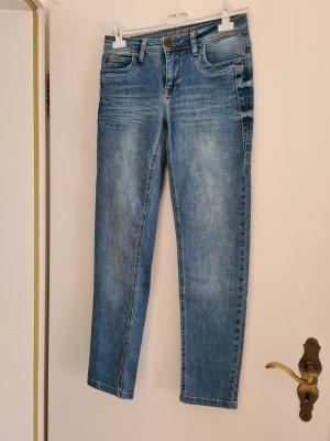 Blue Fire Jeans skinny grigio ardesia