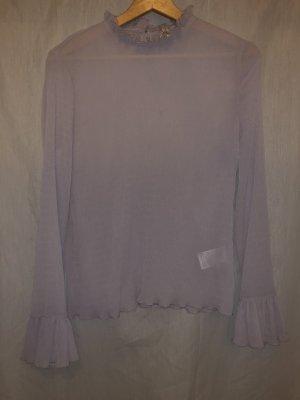 H&M Zijden blouse mauve