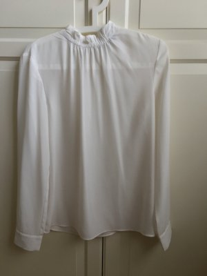 Jake*s Blusa de cuello alto blanco puro-blanco