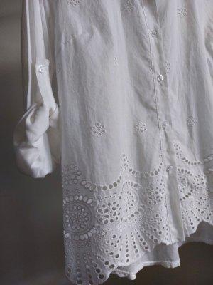 Linda Cols de blouses blanc