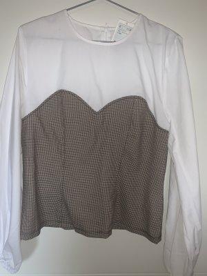 NEU Bluse von H&M Corsagenstil Gr. 44