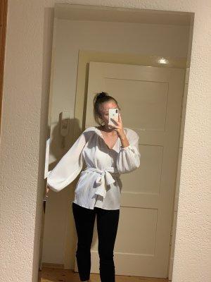 NEU Bluse zum Binden H&M weiß