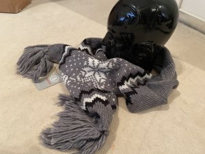 Bogner Fire + Ice Knitted Scarf grey