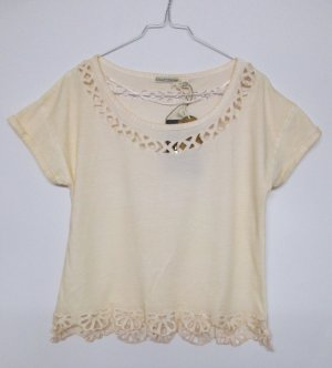 Camicia cropped multicolore Cotone