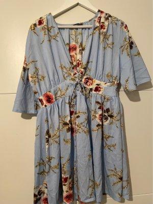 Boohoo Midi Dress multicolored