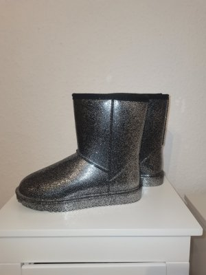 keine Marke Snow Boots silver-colored-grey