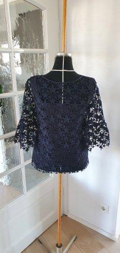 Hugo Boss Lace Blouse black cotton