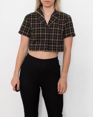 Brandy & Melville Shirt Blouse black-olive green